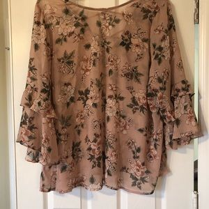 Light weight Floral blouse